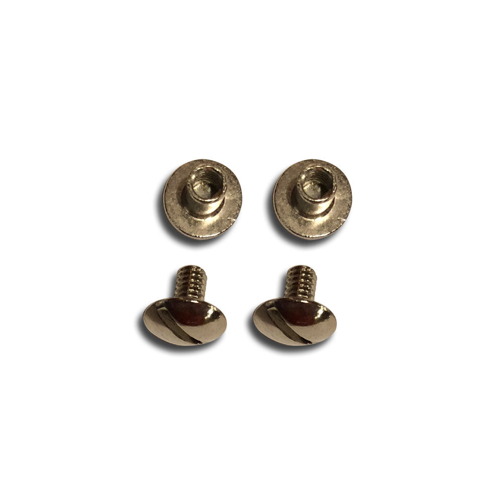 "Nickel Plated Replacement Screws - 5/16""-Gift Certs. & Parts-Rockstar Leatherworks™"
