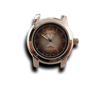 Brown - Round Watch Face (38mm Alloy)-Gift Certs. & Parts-Rockstar Leatherworks™