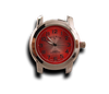 Red - Round Watch Face (Alloy)-Gift Certs. & Parts-Rockstar Leatherworks™