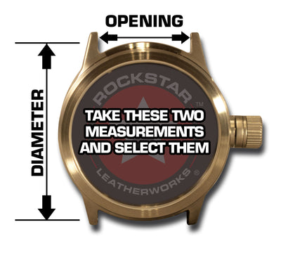Design & Create a Rockstar Drake Leather Cuff Watch Band-Custom Handmade Leather Watch Bands-Rockstar Leatherworks™