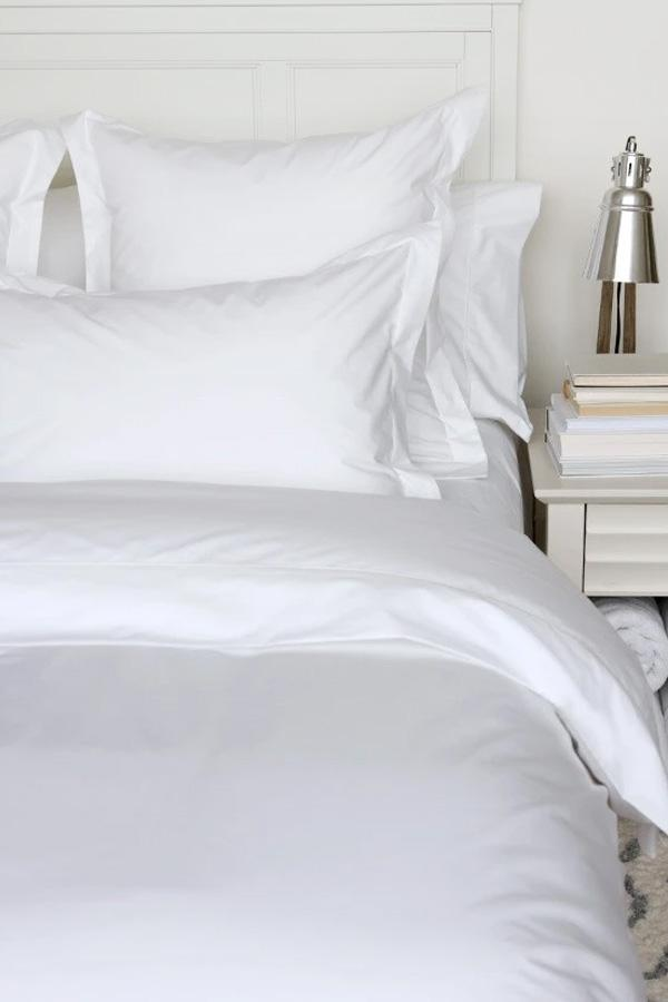 CD Percale Deluxe Solid 200 TC Fitted Sheet