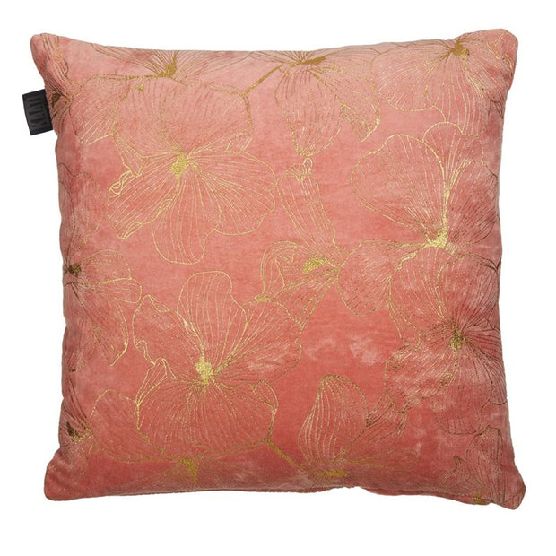 Hibiscus Pink Cushion