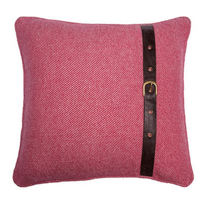 Wool Red Cushion