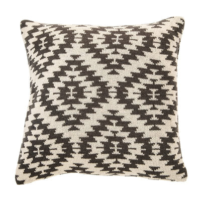 Arold Patterned Grey Cushion