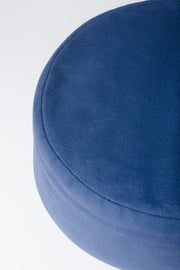 Handcrafted Buckwheat Meditation Pillow (Blue)
