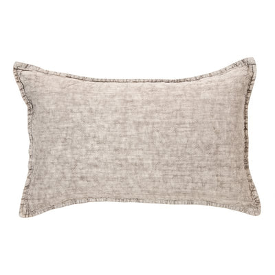 Linen Stone Wash Grey Cushion