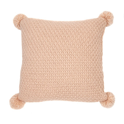 Melon Soft Pink Cushion