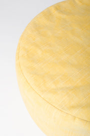 Handcrafted Buckwheat Meditation Pillow (Yellow)