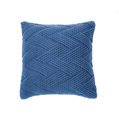Zig Zag Blue Cushion