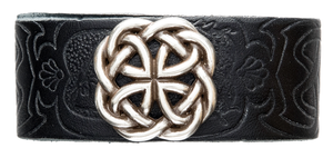 Celtic Knot Embossed Cuff