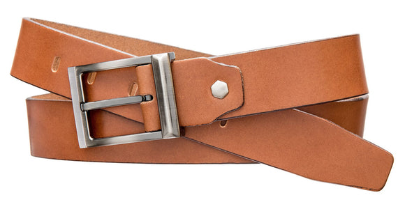 Modern Dress Belt - Medium Tan