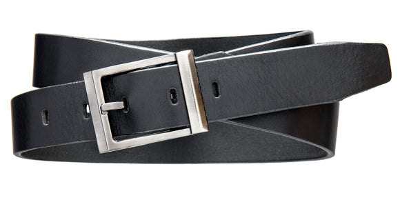 Modern Dress Belt - Black