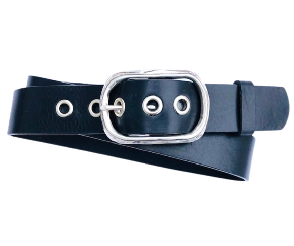 Ladies eyelet belt