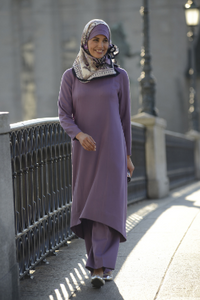 Long HiLo Tunic with Princess Seams