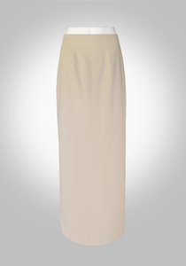 Tan Maxi Pencil Skirt