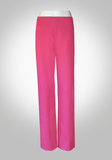 Comfortable Wide Leg Cotton/Lycra Pants
