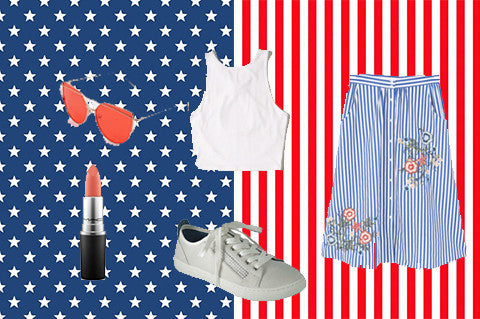 4 Outfits For The 4th Of July