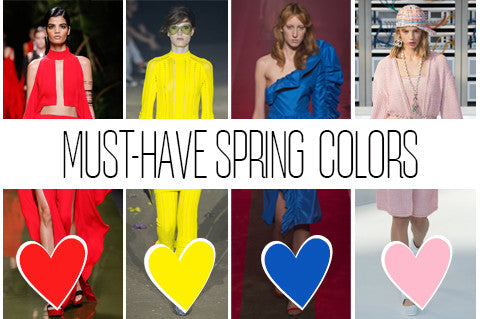 Must-Have Spring Colors