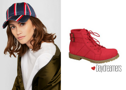 Baseball Cap With Daydreamers Combat Bootie