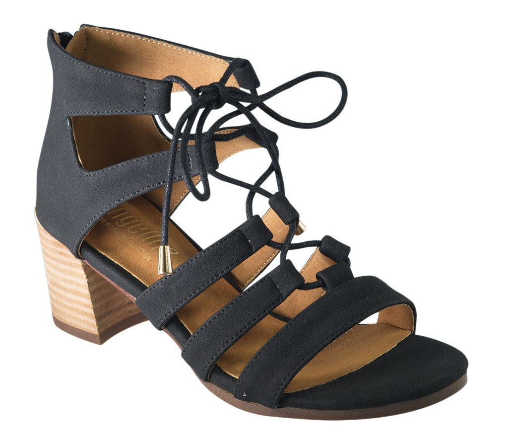 Summer Nights Sandal- Black