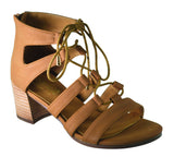 Summer Nights Sandal- Tan