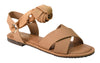 Wrapped Up Sandals- Nude