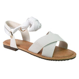Wrapped Up Sandals- White