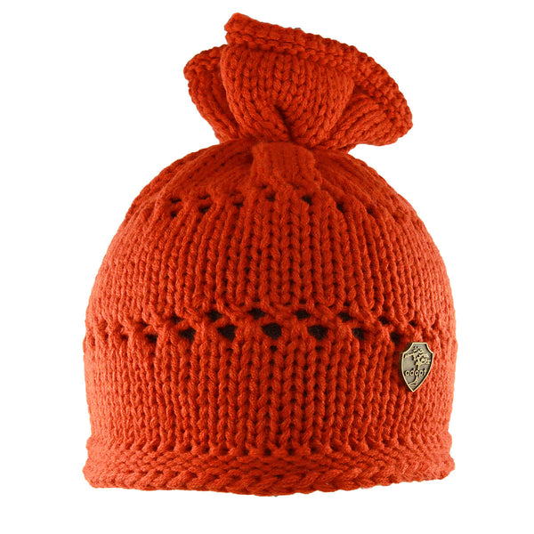 Surfbird Twist Top Beanie