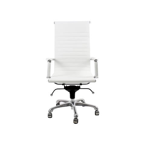 SILLA OFICINA CÁDIZ HIGH BACK - BLANCO