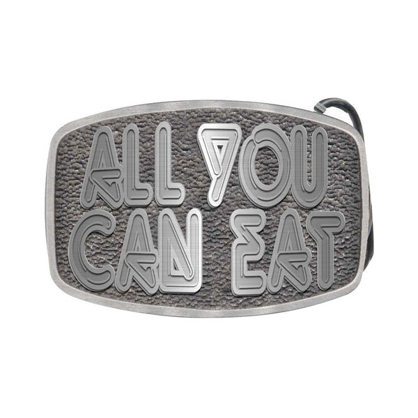 All You Can Eat Belt Buckle