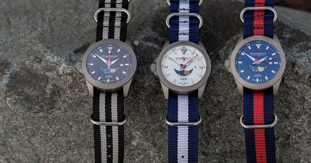 graduation watches - sportfisher 2 moonphase watches