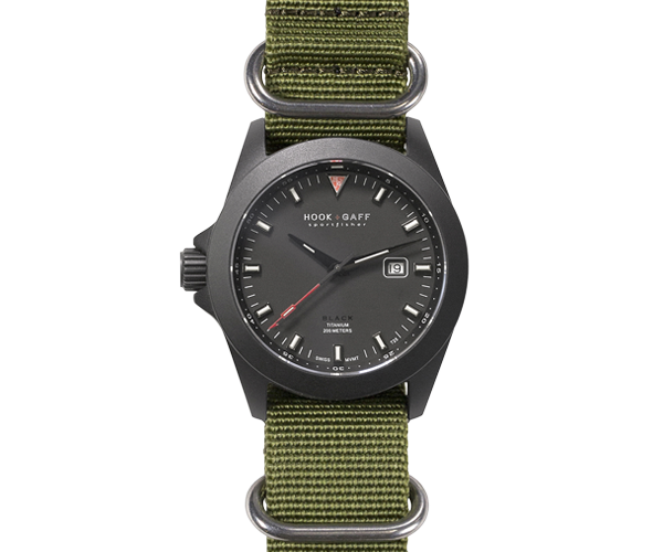 sportfisher black green strap