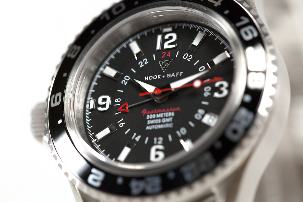 what is a gmt watch - fleetmaster