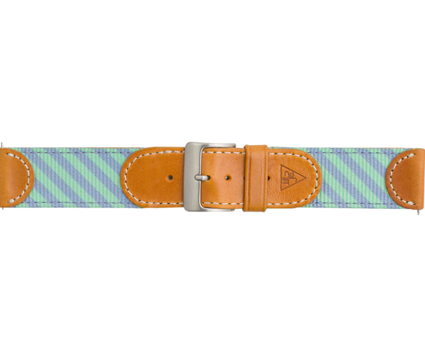 Woven - Leather Strap
