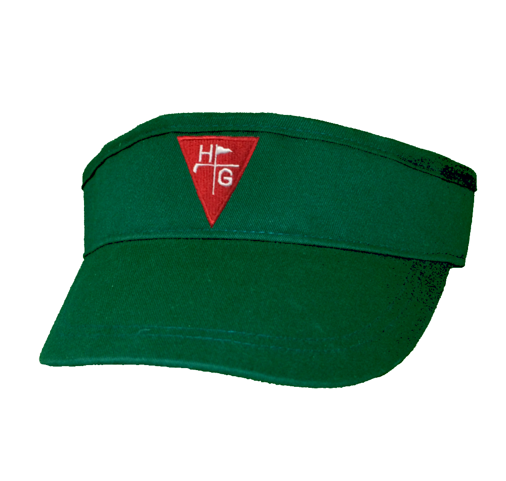 Golf Visor - Green