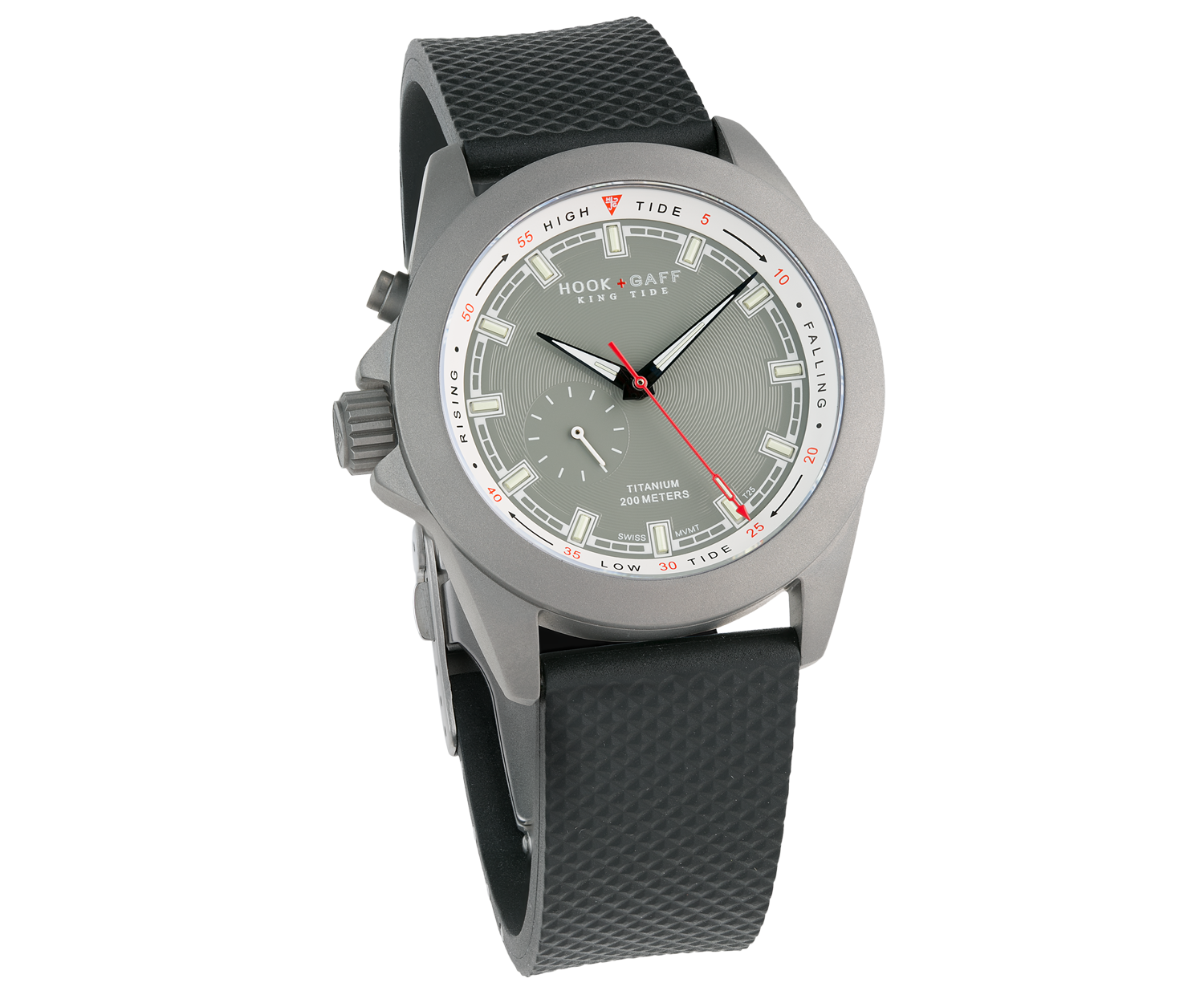 King Tide Watch - Gray Dial