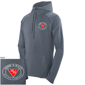 Gray Performance Hoodie - Hook + Gaff