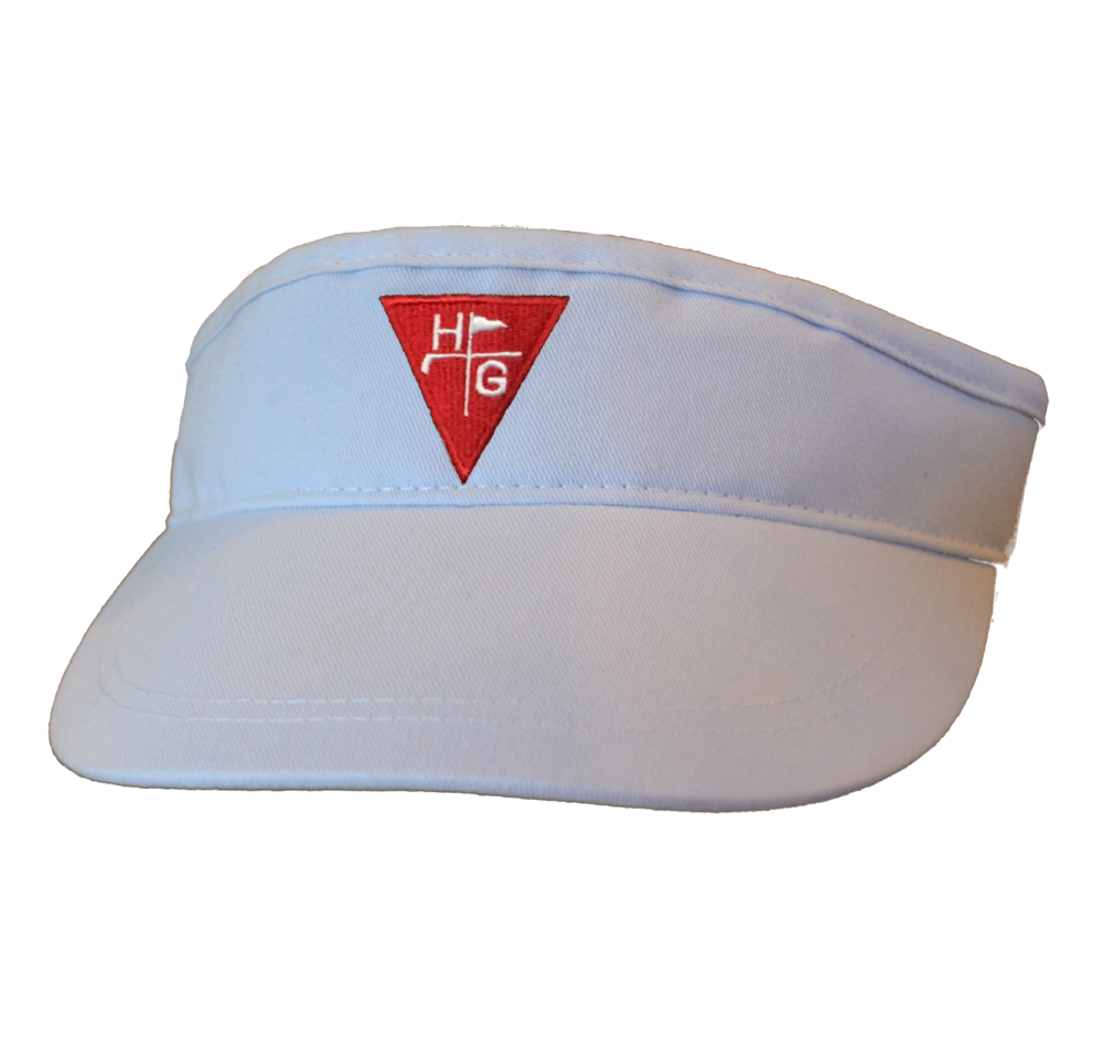 Golf Visor - White