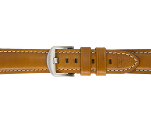 Cognac Light Brown Leather Watch Strap