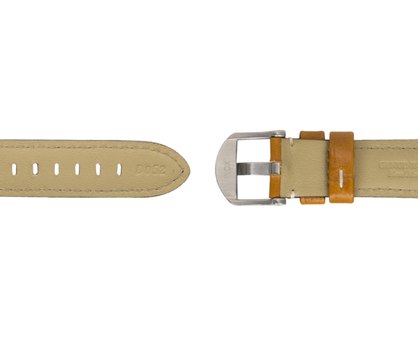 Sportfisher 3 Hand-Stitched Leather Strap - Tan