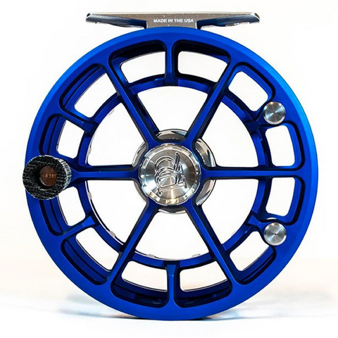 Ross R Salt Limited Edition Reel Matte Blue