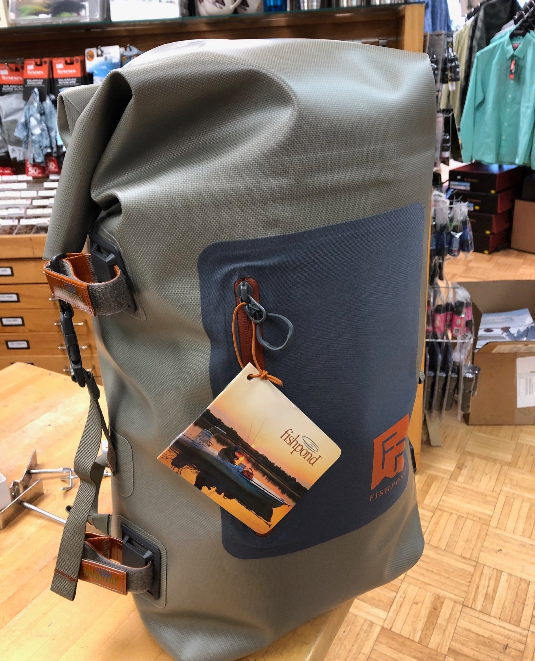 The Fishpond Wind River Roll-Top Backpack 2