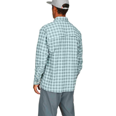 f0ea0531 Simms BugStopper LS Shirt Plaid - The Compleat Angler