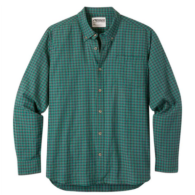 Mountain Khakis Men's Spalding Gingham LS Shirt