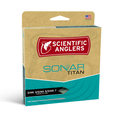 Scientific Angler Sonar TitianSink 3/Sink 5/Sink 7 Fly Line