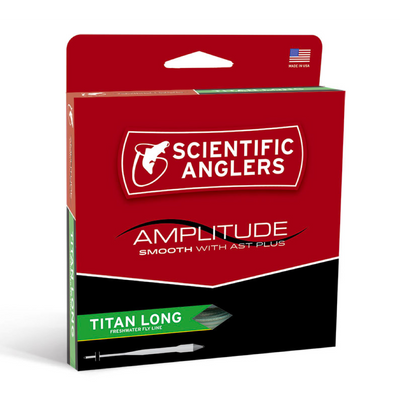 Scientific Anglers Amplitude Smooth Titian Long Fly Line