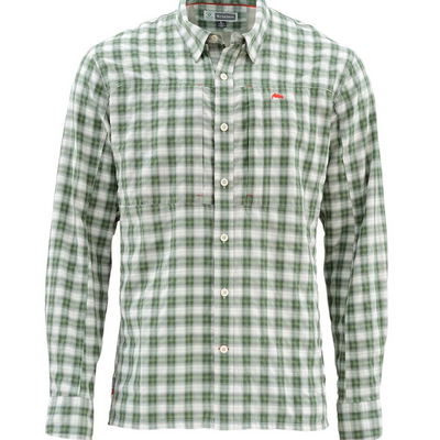 Simms BugStopper LS Shirt Plaid