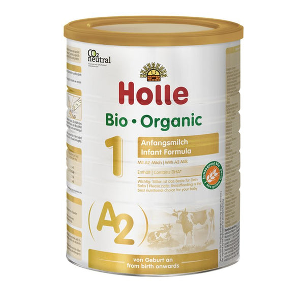 New From Holle... Organic Infant Formula Made with A2 Milk