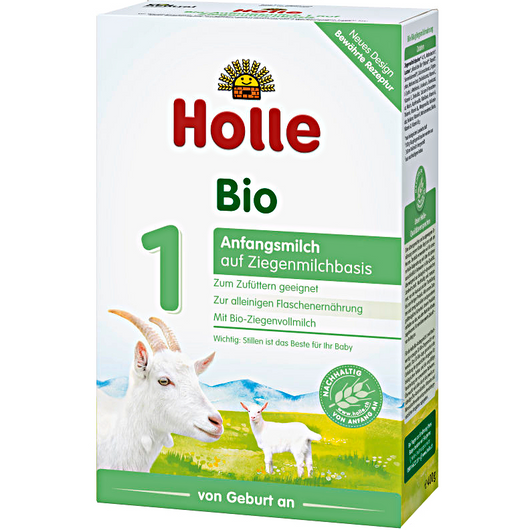 4-Pack Holle Goat Stage 1 Organic (Bio) Infant Milk Formula (400g)