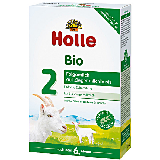 6-Pack Holle Goat Stage 2 Organic (Bio) Follow-on Infant Milk Formula (400g)